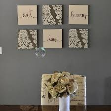 acrylic monogram wall decor unique brown wall decor set eat drink be merry wall art