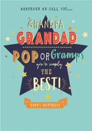 Maybe you would like to learn more about one of these? Grandpa Grandad Pop Or Gramps Typographic Happy Birthday Card Moonpig