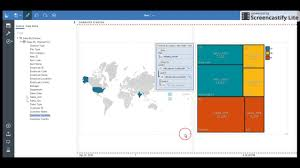 Ibm Cognos Analytics 11 Tutorial Dynamic Map Tree Dataviz Part 4 Of 45