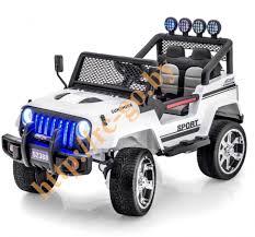 <b>Детский электромобиль Little Sun</b> White Jeep 12V 2.4G ...