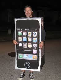 iphone costume. everyone\u0027s kind of done this one already, but you can make an iphone costume really easily. iphone cult mac