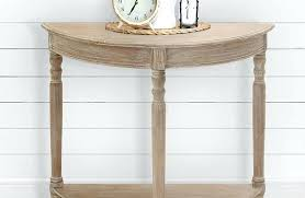 half round console table reclaimed wood half round console table reclaimed wood half round console table