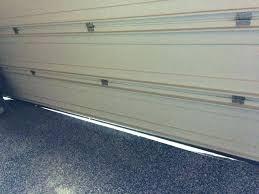 installing weather stripping around garage door image of seal install side and top we garage door weather seal