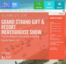 the grand strand gift resort merchandise show history