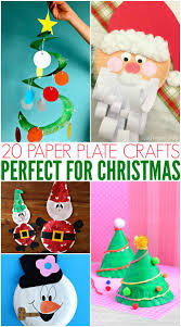 Making A Paper Plate Snow Globe  ThriftyFunChristmas Paper Plate Crafts