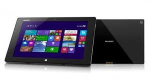 Sharp Mebius Pad Wasserfestes Windows Tablet Mit Hoher Auflösung