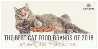 Cat Food Carbohydrate Chart Best Cat Food Brands Of 2018 Reviews And Comparisons