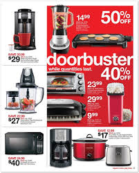 Target Small Kitchen Appliances The Target Black Friday Ad For 2015 Is Out View All 40 Pages