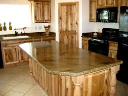 ... Astonishing Black Kitchen Island With Granite Top And Sweet Tile Design  ...