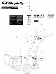 simplicity 1694162 parts list and diagram ereplacementparts com ford 2000 tractor wiring diagram bolens lawn tractor deck diagram 7016 simplicity tractor