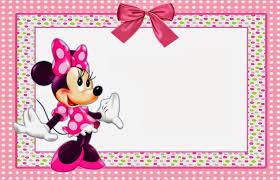 free minnie mouse printable invitation template invitations