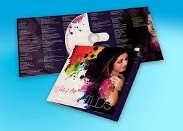 How To Make Cd Insert Cd Design Dvd Design Album Cover Design The Design Studio