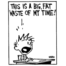 Calvin & Hobbes cartoon: