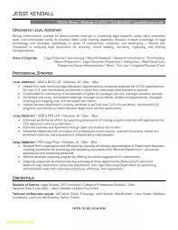 Legal Assistant Resume Examples 35854 Communityunionism
