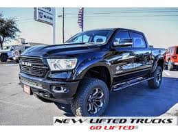 2019 Ram 1500 Black Widow New Lifted Truck For Sale in Texas ...