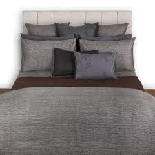 acacia gray textured duvet cover