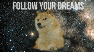doge wallpaper hd. Interesting Wallpaper Doge Follow Your Dreams HD Wallpaper 1920x1080 For Hd D