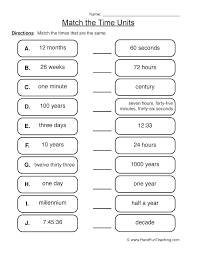 Metric Conversians Math Measurement Worksheets Page 2 Of 4 Have Fun ...
