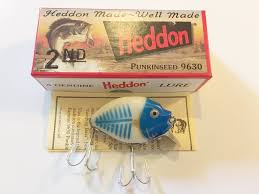 Heddon 9630 Punkinseed Bbhbg Bone Shore Blue Head Color New