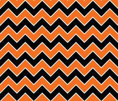 Halloween Pattern Inspiration Halloween Chevron Pattern Fabric Ophelia Spoonflower