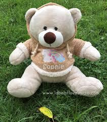 Personalized <b>Big Bear</b> | Label of Love Studio
