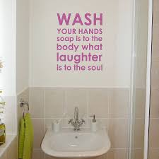 bathroom rules wall sticker by nutmeg notonthehighstreetcom