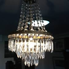 vintage french empire style chandelier 1 of 2