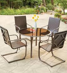 cool wicker outdoor dining sets hampton bay santa cruz 5 piece wicker outdoor dining set 5244