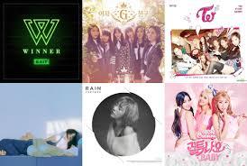 Weekly K Pop Music Chart 2016 March Week 1 Soompi