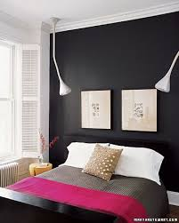 black painted walls bedroom. Plain Bedroom A Black Painted Wall In The Bedroom Makes It Cozy And Cave Like Let Me Go  Around My House See Where I Can Get One Black For Black Painted Walls Bedroom