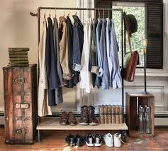 12 Superb Bedroom Clothes Rack Designs Rilane