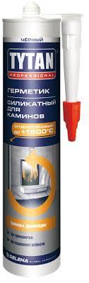 <b>Герметик силикатный Tytan Professional</b> для каминов черный 310 ...