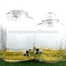 large glass drink dispenser with spigot 5 gallon glass beverage dispenser 5 gallon liter huge square glass drinking beverage dispenser 5 gallon large glass
