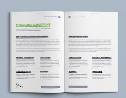 proposal template design project proposal quotation template image set 15 acceptance of quote jpg preview image set 16 cover and back page jpg