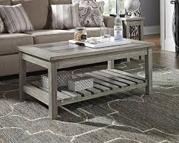 whitewash coffee table. Whitewashed Wood Coffee Table With Decor On Top. Whitewash T