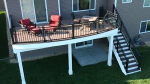 metal deck railing decksdirect