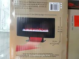 electric fireplaces costco curved wall mount electric fireplace 9 twinstar electric fireplace costco