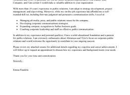 Media Relations Specialist Cover Letter Video Game Programmer