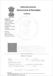 Sample Affidavit For Marriage Certificate India Copy Change Your