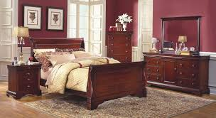 Versailles Bordeaux Bedroom Furniture Collection  USA