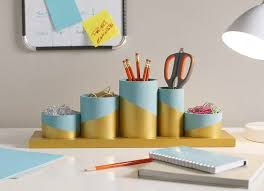 diy office desk accessories. Contemporary Desk These Kate Spade Love Inspired DIY Acrylic Desk Accessories From U0027Just  Destinyu0027 Are Girly And Fun She Made Them Using Letter Containers The  For Diy Office Desk Accessories N