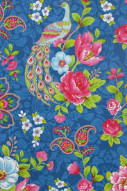 Flowers In The Mix Behang Donkerblauw Pip Studio The Official Website