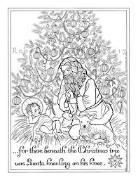 Religious Christmas Bible Coloring Pages Baby Jesus Weareeachother