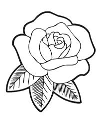 Small Picture Top 10 Easy Rose Flower Coloring Pages Free Kids Children and