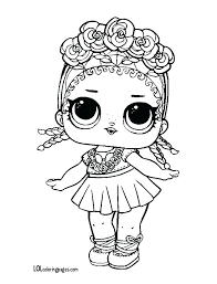Unicorn Lol Coloring Pictures Dolls Coloring Pages Waves Doll Top
