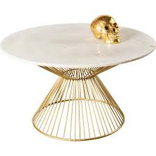 j juno marble top gold coffee table