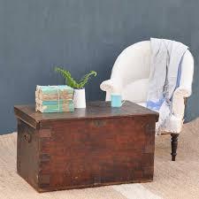 pine antique blanket box linen chest