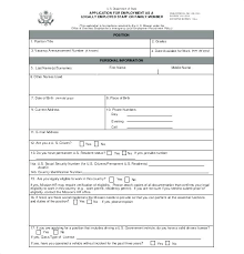 Employee Application Form Word Job Application Form Sample Word Postwing Co