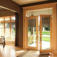 patio glass doors replace french with windows pella built in blinds
