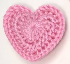 Crochet Heart Pattern Free